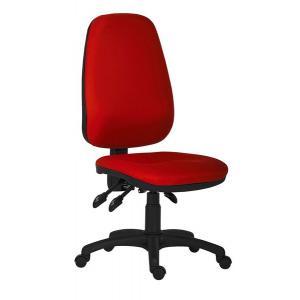 Kancelárska stolička 1540 Asyn, červená D3