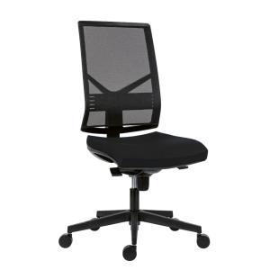 Kancelárska stolička Omnia, čierna BN7