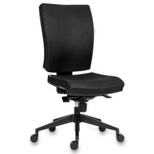 Kancelárska stolička GALA Plus čierna D2