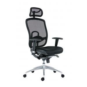 Kancelárska stolička Oklahoma, čierna