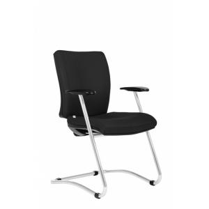 Konferenčná stolička Gala čierna D2