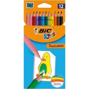 Farbičky BIC Tropicolors 12ks