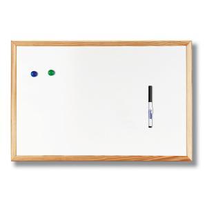 Magnetická nástenka 60x90 cm biela