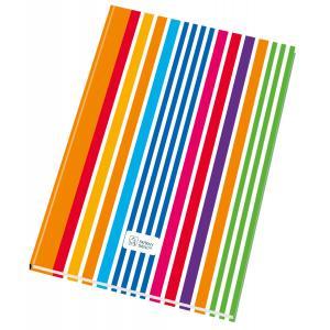 Záznamová kniha Krpa A4 100 listov linajková s registrom