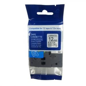 Samolepiaca páska Brother TZe-231 12mm biela/čierna