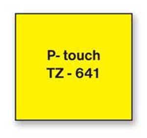 Samolepiaca páska Brother TZe-641 18mm žltá/čierna