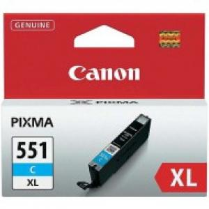 Atrament Canon CLI-551 C XL cyan MG5450/6350, iP7250