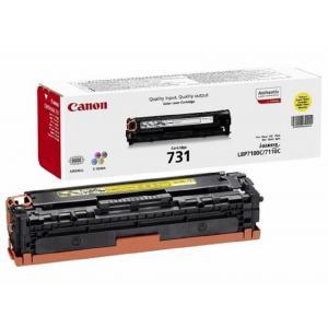 Toner Canon CRG-731 pre LBP 7100cn/7110cw/MF8230Cn/8280Cw yellow (1.500 str.)
