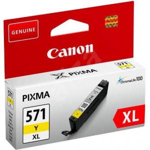 Atrament Canon CLI-571Y XL yellow MG 5750/5751/6850/6851/7750/7751
