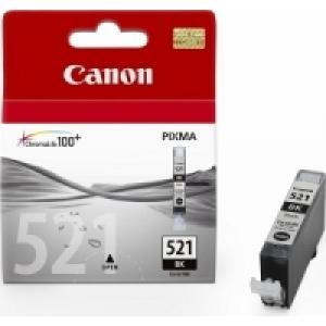 Atramentová náplň Canon CLI-521 black pre MP 540/620/630/980/iP 3600/4600 (460 str.)