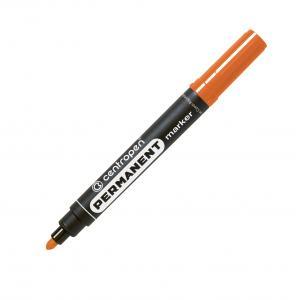 Permanentný popisovač Centropen 8566 oranžový