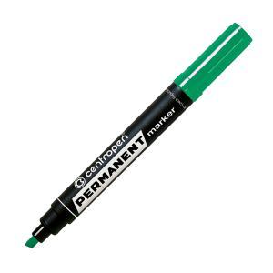 Permanentný popisovač Centropen 8576 zelený