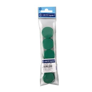Magnety 30mm zelené 10ks