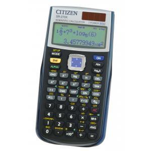 Kalkulačka CiTIZEN SR-270X šedá