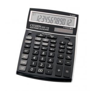 Kalkulačka Citizen CCC-112 čierna