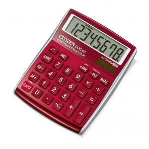Kalkulačka Citizen CDC-80RDWB červená