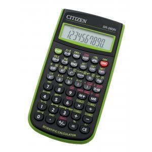 Kalkulačka CITIZEN SR-260N zelená