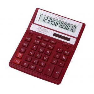 Kalkulačka Citizen SDC-888XRD červená
