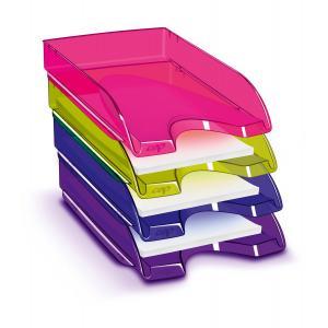 Odkladač CepPro Happy transparentný fialový