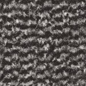 Rohož Vyna-Plush 90x120cm čierna/oceľová