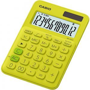Kalkulačka CASIO MS-20UC žltá