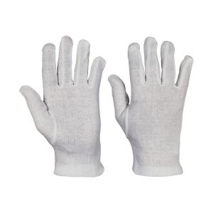 Rukavice bavlnené KITE biele, veľ. 9/L