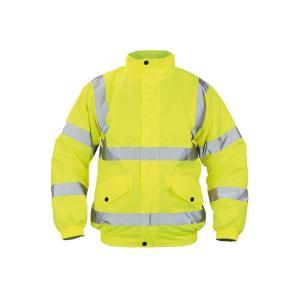 Bunda bezpečnostná CLOTON PILOT HV žltá XL