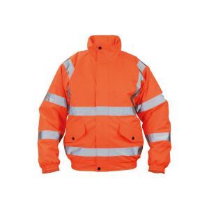 Bunda bezpečnostná CLOTON PILOT HV oranžová S