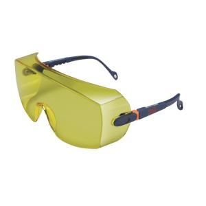 Ochranné krycie okuliare 3M 2802, žltý zorník