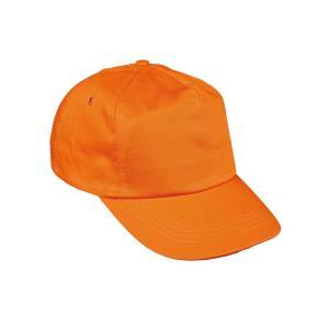 Čiapka baseballová LEO oranžová