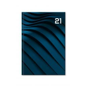 Diár Print denný blue 2021