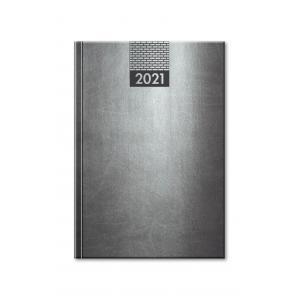 Diár Venetia denný sivý 2021