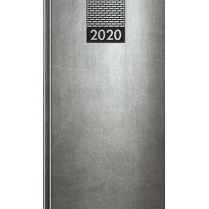 Diár Venetia mini sivý 2020