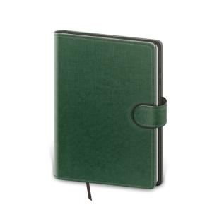 Diár Flip denný 12x16,5cm zeleno/šedý 2022