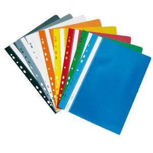 Rýchloviazač PVC s eurodierovaním DONAU lesklý modrý