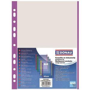 Euroobal DONAU A4 40mic s fialovým okrajom