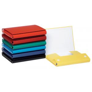 Kartónový box so suchým zipom 35mm DONAU červený