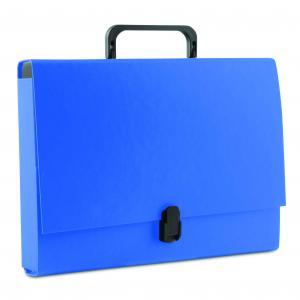 Aktovka kartónová s držadlom DONAU modrá