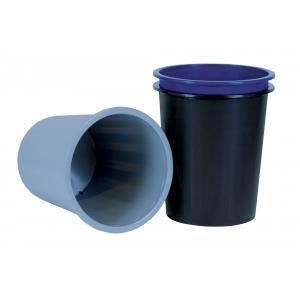 Kôš na papier plný plastový 14 l čierny
