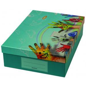 Škatuľa Donau na školské potreby Painted hands