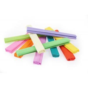Krepový papier Gimboo 50x200cm mix pastelových farieb