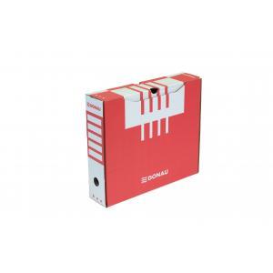 Archívny box 80mm červený