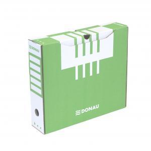 Archívny box DONAU 80mm zelený