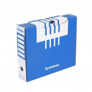 Archívny box DONAU 80mm modrý