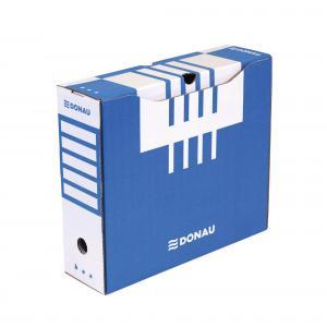Archívny box DONAU 100mm modrý