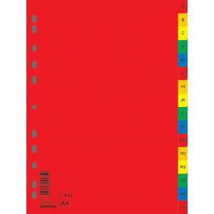 Plastový rozraďovač abecedný A-Z farebný(7726095PL-99)