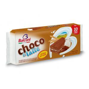 Balconi choco&latte koláčik 10x30g