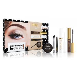 Kozmetická sada Delia Cosmetics Eyebrow Expert Brown