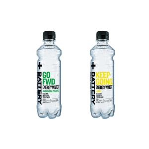 BATTERY Isotonic Energy water  400 ml
