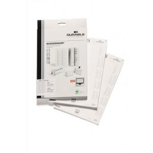Náhradné papiere BADGEMAKER 34x74 mm biele